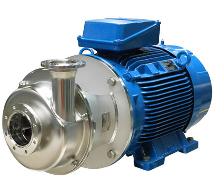 The new, efficient high shear mixing method is based on the proven EHEDG certified Packo pump series FP2 with open impeller and series FP3 with closed impeller. The Packo shear mixer pump is mainly used for in-line mixing, homogenisation and dispergation applications. The shear is generated between the rotor and an innovative and optimized perforated stator (patented). The final goal is to achieve a homogeneous solution of two liquids with high difference in viscosity and or density and to obtain a significant particle size reduction for emulsions and particles leading to a more stable final product.