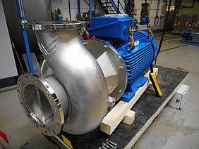 Packo produces centrifugal pump equivalent to more than 8 million bottles of beer per hour!