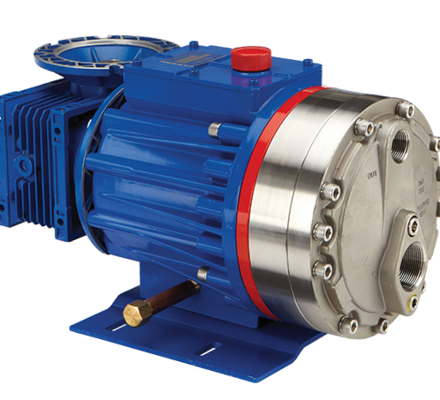 In contrast to other traditional dosing pumps, the piston diaphragm pump series Verderbar P provide a smooth, linear and pulsation free flow that meets and exceeds the API 675 requirements. The precise metering is achieved by regulation with a frequency inverter and eliminates the need for an inaccurate stroke adjustment. Thus the pump achieves a high level of reproducibility, linearity and accuracy. Traditional diaphragm metering pumps are equipped with a normal PTFE diaphragm that is subject to wear especially when pumping low temperature fluids. A worn membrane can cause inaccurate metering results and produces high maintenance costs. That is why Verder also offers other elastomeric materials for an excellent chemical resistance and a good flexibility in many different applications.