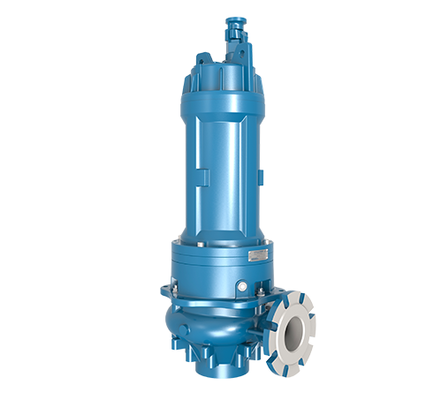 Verderhus® T submersible pumps have a hermetically sealed motor, close-coupled to the pump body. The motors are conform IP68 standards that make them ideal for efficient operation when submerged in the fluid being pumped. These pumps can come with mounting options such as auto-coupling or a suction stand as standard, depending on the application which includes slurry pumping, sewage treatment plants, seawater handling, mine dewatering, drainage and many more.