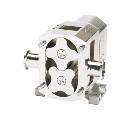 The rotary lobe pumps Series Verderlobe made by Wright Flow Technologies offer a hygienic promotion for the food, beverage and pharmaceutical industries and for many other applications. Thanks to stainless steel components with high surface quality, the pumps are particularly suitable for CIP and SIP processes suitable.