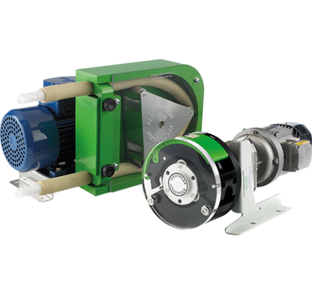 The Rapide is a compact peristaltic tube pump which can be installed as a unit in itself or integrated into a system such as a printing press or packaged turnkey skid.